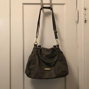 Grey Steve Madden purse